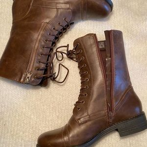 Brown Boots - Spring